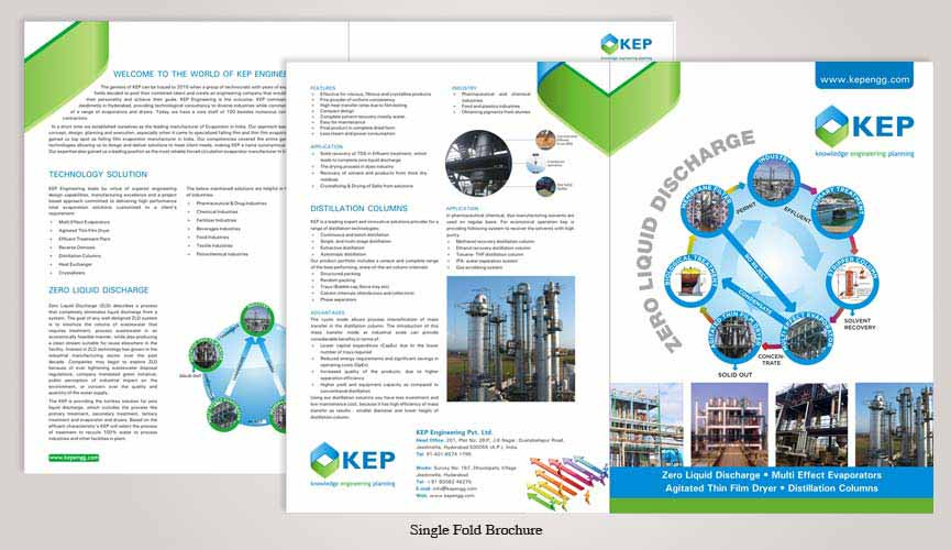 engineering college brochure design - brochure design in noida delhi india corporate brochure