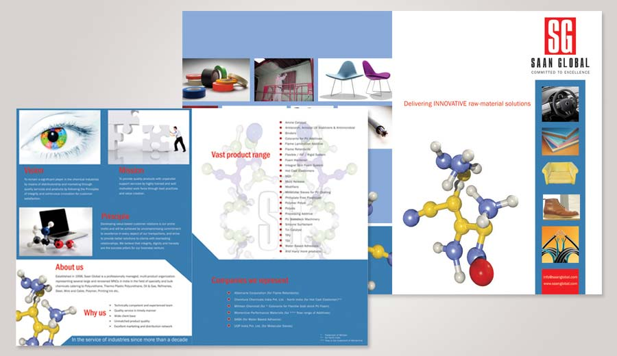 Brochure design in noida delhi india corporate brochure for Marketing brochure design