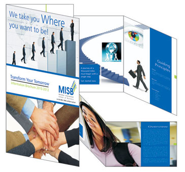 Management Institute Prospectus Design